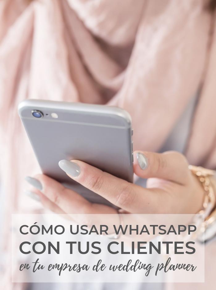 whatsapp para wedding planners