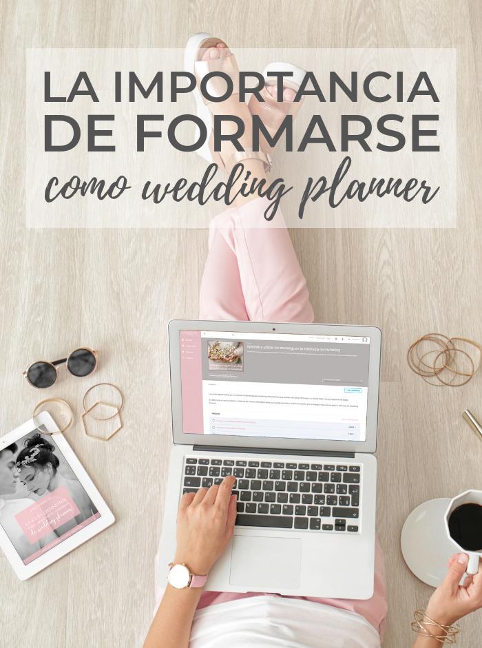 La importancia de formarse como Wedding Planner